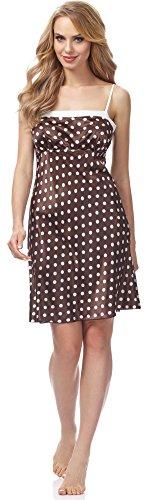 Style Merry Camicia Donna da MSFX577 Marrone Notte RTnZdTq8wr