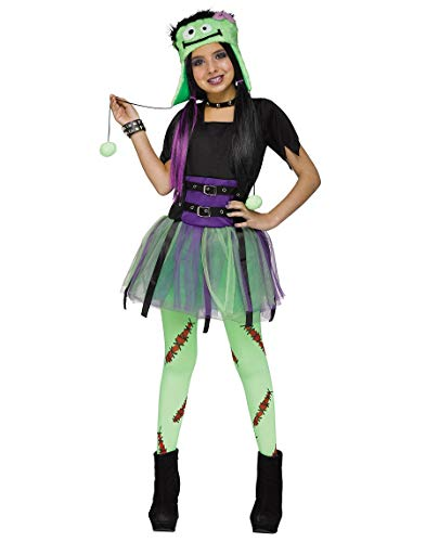 Girls Frankenstein Frankie Baby Kids Costume -