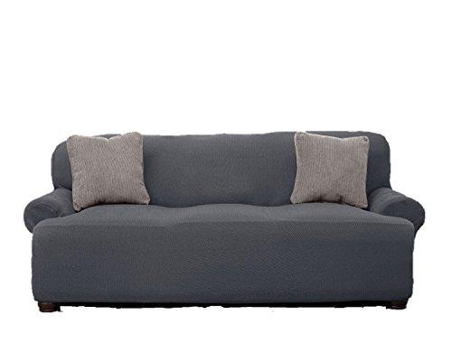 Leu0027 Benton Stretchable Sofa Cover   Grey