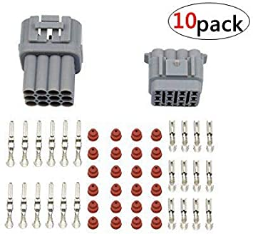 [DIAGRAM_34OR]  Amazon.com: WMYCONGCONG Waterproof Electrical Wire Cable 12 Pin Way Connector  Plug (10 Kit): Automotive | 12 Pin Wiring Harness Connectors Plug |  | Amazon.com