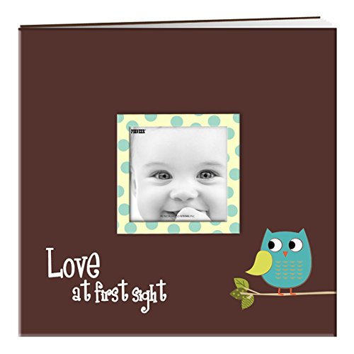 Pioneer Baby Owl Printed Design Post Bound Scrapbook Album -