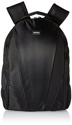 Vivitar Large Photo/Video Backpack with Multiple Versatile Storage compartments, Two Side Pockets, Tripod Strap (Camera Bag Vivitar)