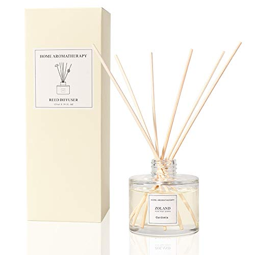 TIYOLE Reed Diffuser Sticks Aromatic Stress Relief Sandalwood Diffuser Room Diffusers with Sticks (Gardenia) ()