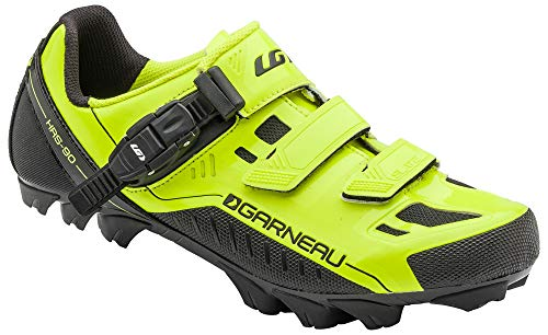 Louis Garneau Men's Slate MTB Bike Shoes, Bright Yellow, US (5), EU (38)