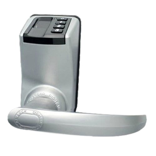 Adel Biometric Lock - Adel 3398 Keyless Biometric Fingerprint Door Lock Trinity Fingerprint + Password+ Key