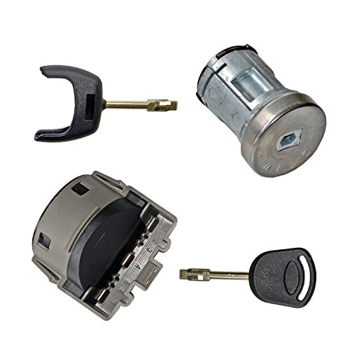 Ignition Switch + Lock Barrel Set with 2 Keys 1062207: