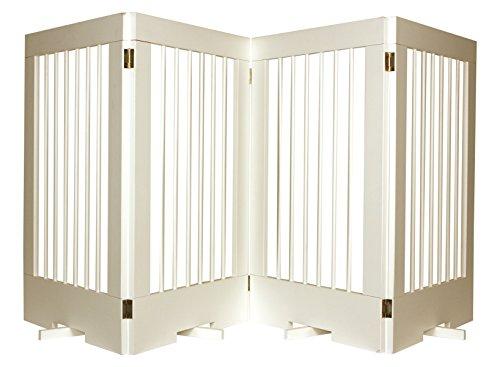 Duragate Pet Gate - Cardinal Gates 4-Panel Tall Pet Gate, White