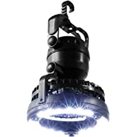 Whetstone Image Portable LED Camping Lantern with Ceiling Fan