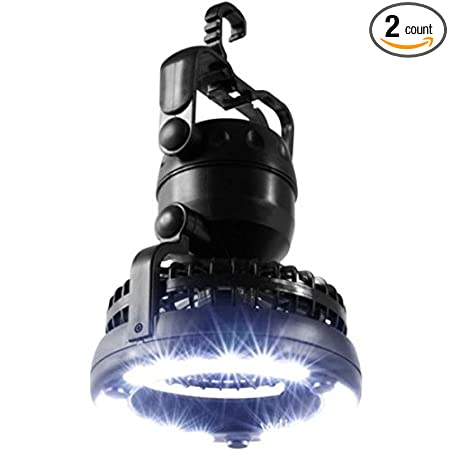 Portable LED Lantern with Ceiling Fan