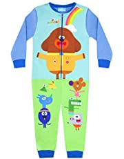 Hey Duggee Squirrel Club Boy's Blue Onesie Kid's Sleep Suit