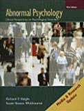 Abnormal Psychology : Clinical Perspectives on Psychological Disorders, Halgin, Richard P. and Whitbourne, Susan Krauss, 0073382752