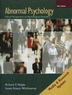 Abnormal Psychology: Clinical Perspectives on Psychological Disorders, Media Update