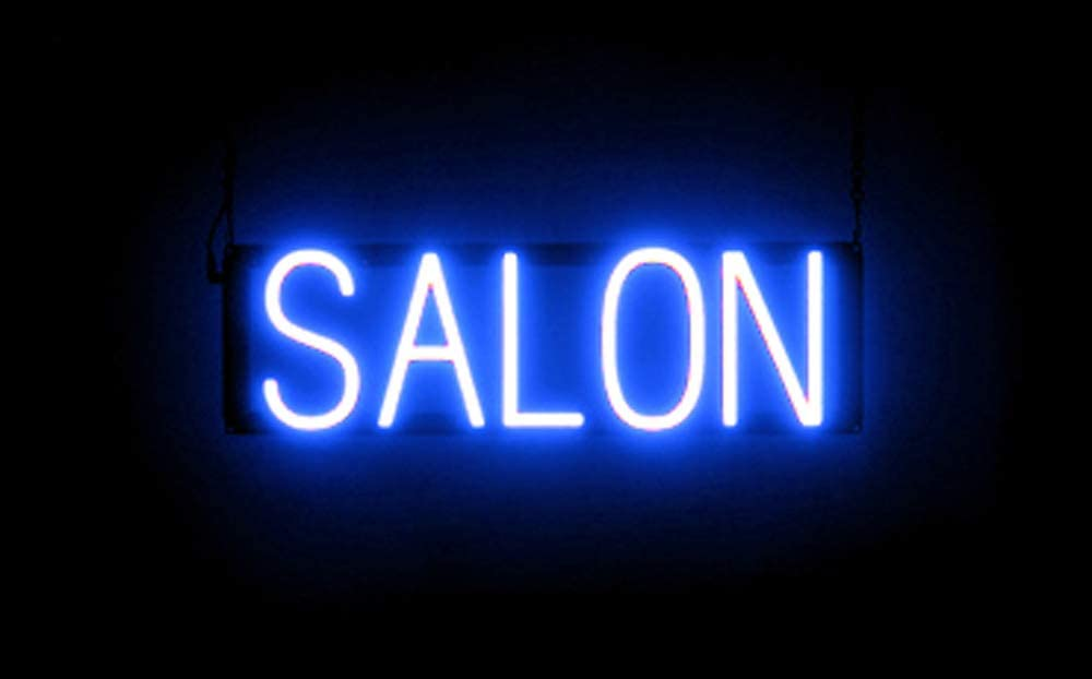 Neon look, LED performance SpellBrite Ultra-Bright SALON Sign Neon-LED Sign