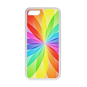 Rainbow Flower Fashion Personalized Phone Iphone 4/4S