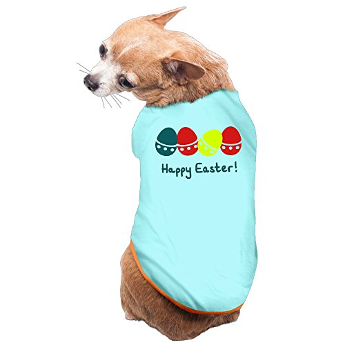 Vgd Happy Easter art logo SkyBlue Fashion Dog T Shirt