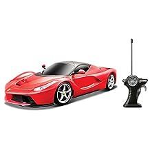 Maisto R/C Ferrari LaFerrari Diecast Vehicle, Scale 1:24 (colors may vary)