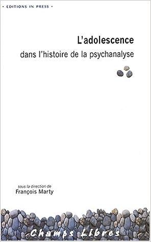 Lire un L'Adolescence dans l'histoire de la psychanalyse pdf, epub ebook