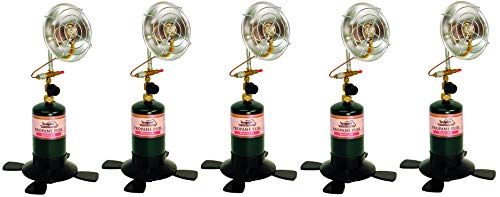 Texsport Portable Outdoor Propane Heater ((5.Units)) For Sale