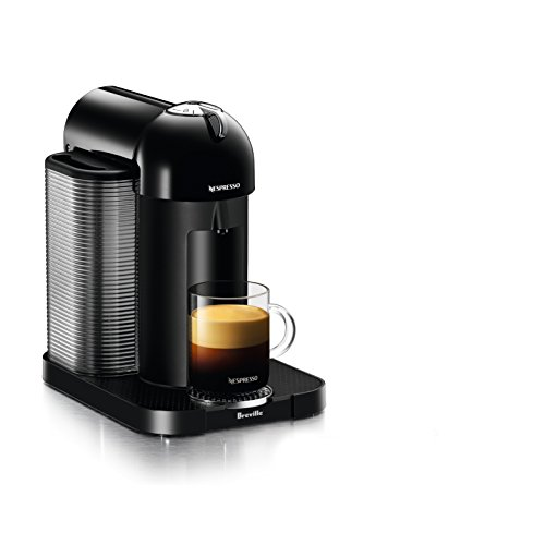 Nespresso Vertuo Coffee and Espresso Machine by Breville, Black