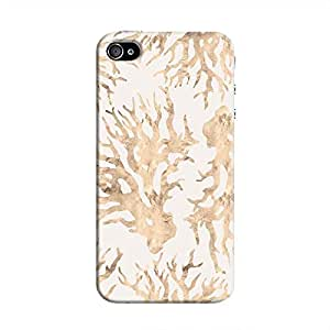 Cover It Up - Blue Pastel Nature Print iPhone 4/4s Hard Case