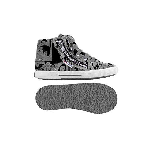 Sneakers - 2224-fantasy Cotj - Bambini Comics Grey-Black