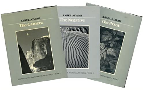 the new ansel adams photography series 3 volumes