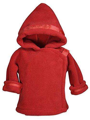 Widgeon Baby Boy's Warm Plus Fleece Jacket, Red, 9 Months 2x Large Polyester Fleece