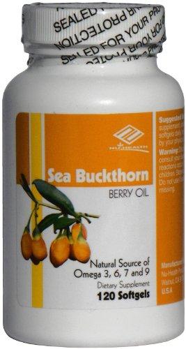 Облепиха Берри нефть, природный источник омега 3,6,7,9 120 Sgels хороший продукт