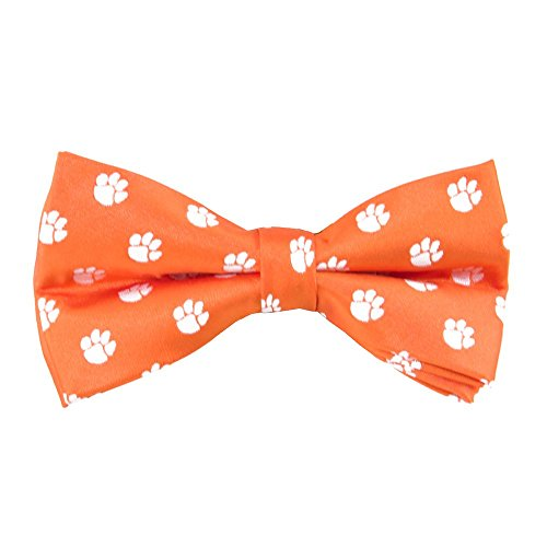 Eagles Wings EAG-9868 Clemson Tigers NCAA Repeat Mens Bow Tie