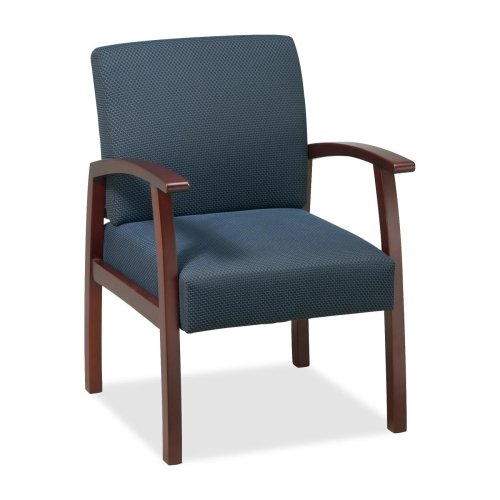 Wholesale CASE of 2 - Lorell Deluxe Guest Chairs-Guest Chairs, 24
