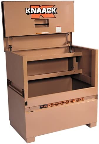 Knaack Storage master Jobsite Storage Chest with Large Dual Folding Doors