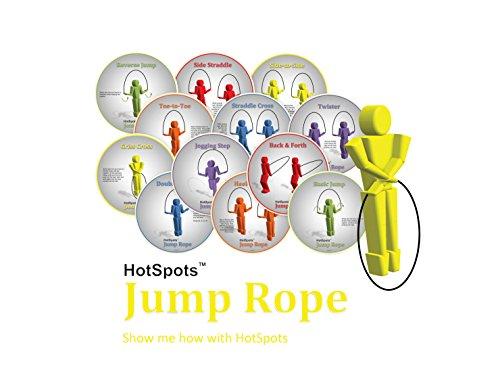 (HotSpots Rope Jumping Spots, Set of 12)