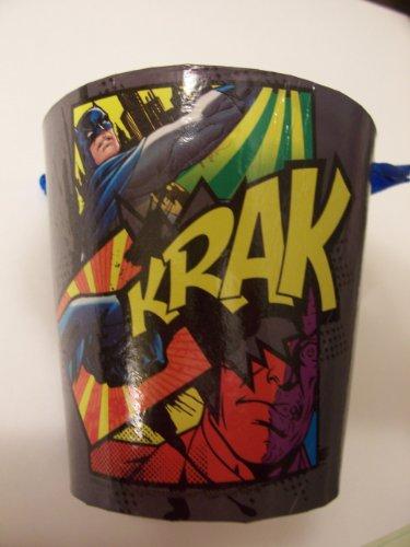 DC Comics Batman Paper Pail ~ Krak