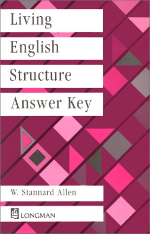 Living English Structure, Answer Key (General Grammar)