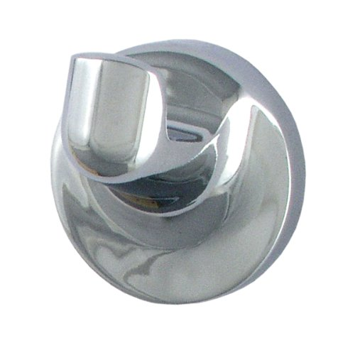 LDR 167 4761CP Tahoe Single Robe Hook, Chrome by LDR Industries