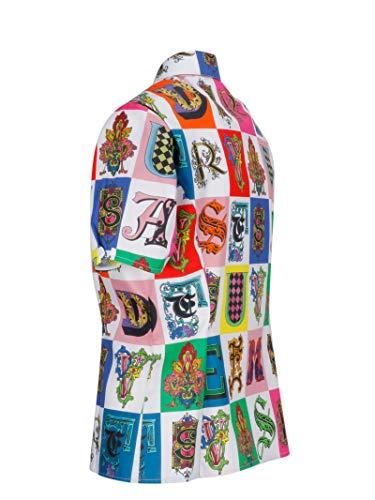 Versace Chemise Femme A81535a228635a7001 Collection Multicolore Soie rwqXrPxf5