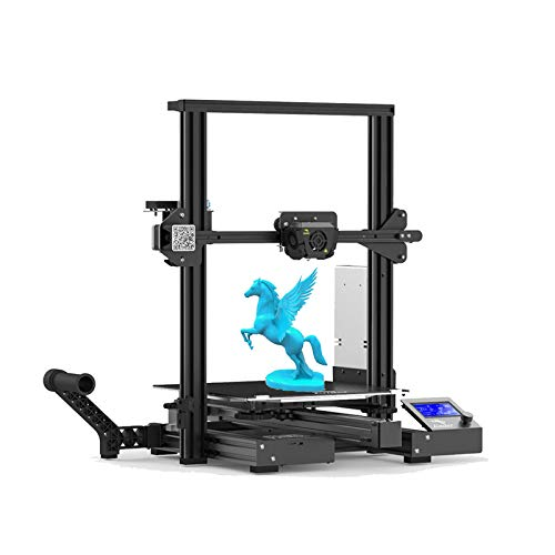Creality Ender 3 Max 3D Printe Upgraded All Metal FDM 3D Printer with Silent Mainboard Meanwell Power Supply Carborundum…