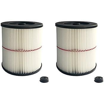 ATXKXE Vacuum Cleaner Air Cartridge Filter for Craftsman 17816 Filter (2 Pack)