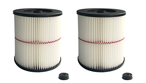 ATXKXE Vacuum Cleaner Filter for Craftsman 17816 Filter (2 Pack) (Filter Dry Vac)