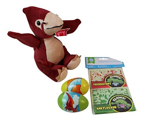 4 pc Dinosaur Themed Bundle: 1- 6