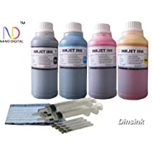 ND TM Brand Dinsink: 4X10OZ refill ink kit for HP 45 HP 78 ink cartridge:Deskjet 920 920C 920Cvr 930 930C 932 932C 935 935C 940 940C 940Cvr 950 950C 952 952C 960 960Cse 960Cxi 970 970C 970Cse 970Cxi 990C 990cm 990Cse 990cxi 995 995C 995ck 1220c-ps 1220cse 1220cxi 6122 6127 9300...The item with syringe and detail refill instruction.The item with ND Logo!