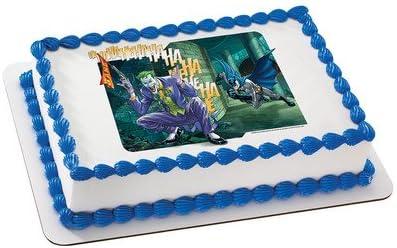 Pleasing Amazon Com Batman Joker Licensed Edible Cake Topper 6750 Personalised Birthday Cards Paralily Jamesorg