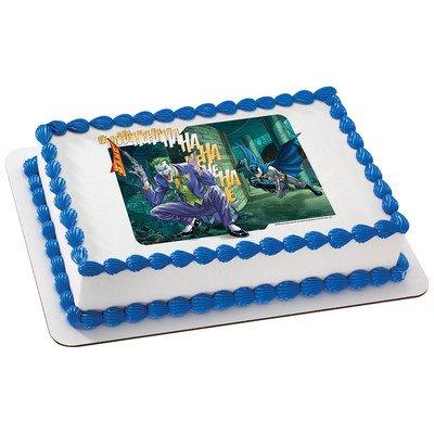 Batman & Joker Licensed Edible Cake Topper #6750]()