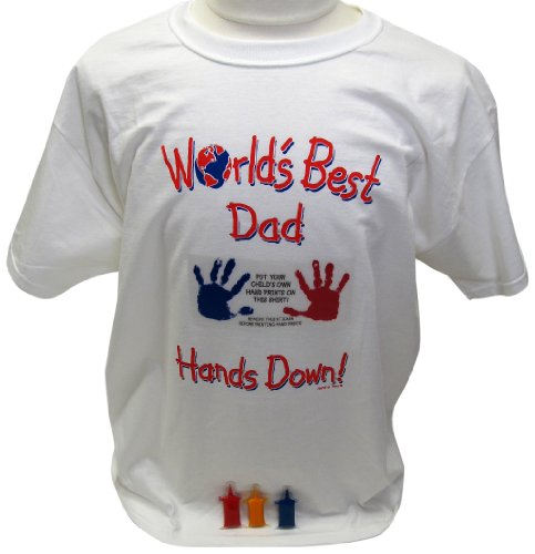 Price comparison product image Handy Tees Worlds Best Dad Tee Keepsake Product, Large