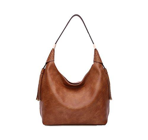 MKF Collection by Mia K Farrow Alya Vegan Leather Fashion Hobo Bag,purses, Designer handbag,Handbags for women ,Big bag