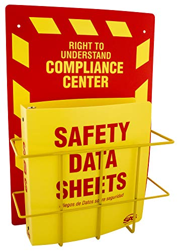 (SAS Safety 6000-75 MSDS Compliance Center, Wall Mount)