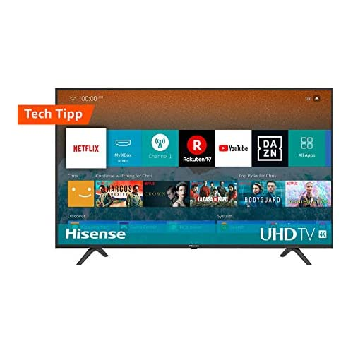 chollos oferta descuentos barato Hisense H55BE7000 Smart Tv 55 4K UltraHD con Alexa Integrada Negro