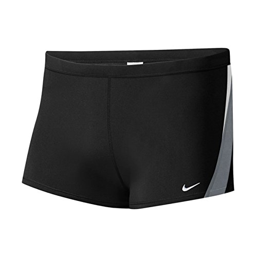 Wild Leg Square - Nike Men's Surge Color Block Poly Square Leg Brief Black 36