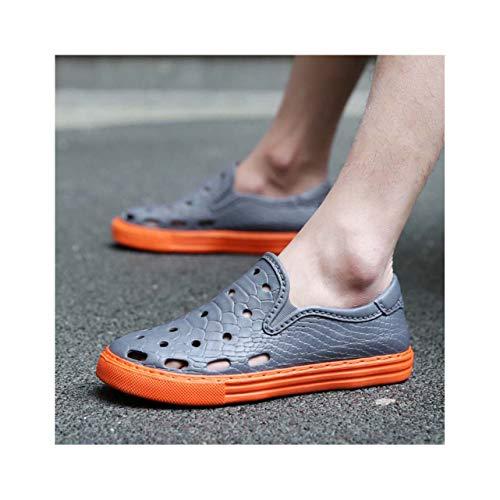 (ANGERT& Men 2019 Summer Breathable Casual Shoes Men's Non-Slip Tide mesh Flats ak9969 03 39)