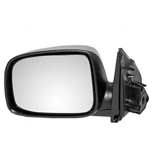 (Drivers Manual Side View Mirror Replacement for 04-12 Chevrolet Colorado GMC Canyon 06-08 Isuzu i-Series Pickup Truck 15246904)